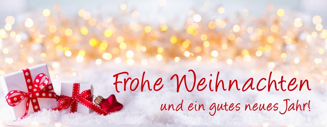 Frohe Weihnachten und ein gutes neues Jahr! Grukarte, Weihnachtskarte